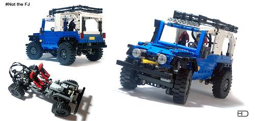 Lego Technic Remote Control 4x4