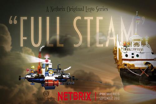 Lego Steampunk Ships