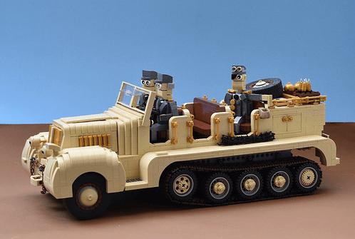 Lego Afrika Korps - Sd Kfz 7