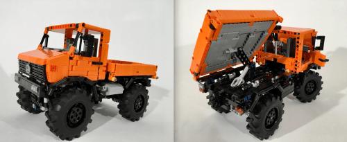 Lego Technic Mercedes-Benz Unimogs