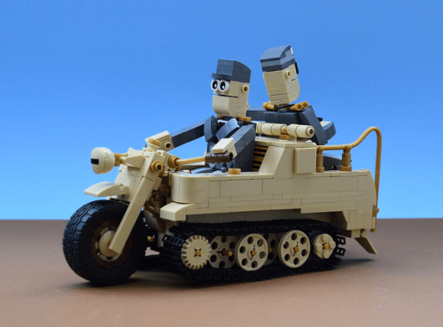 Lego Kleines Kettenkraftrad HK 101