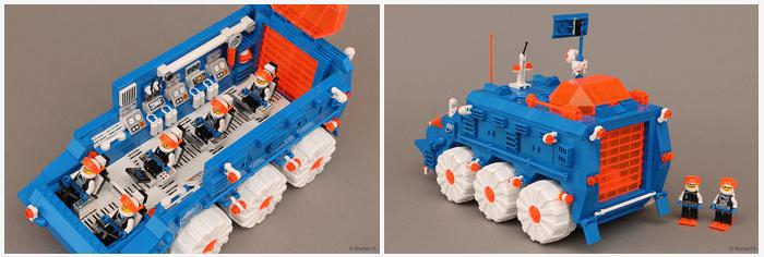 Lego Ice Planet 2002 Mobile Laboratory