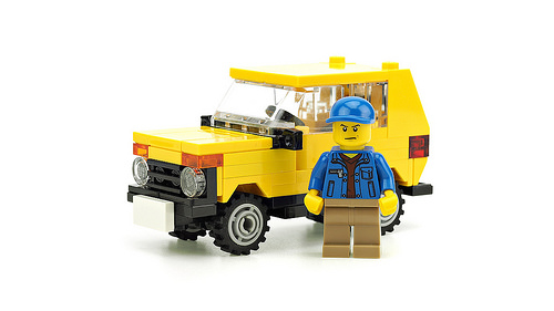 Lego Lada Niva