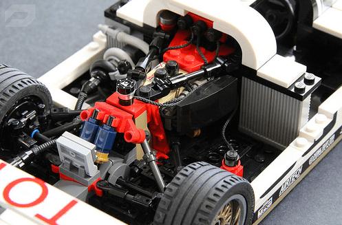 Lego Toyota Egale MKIII Engine