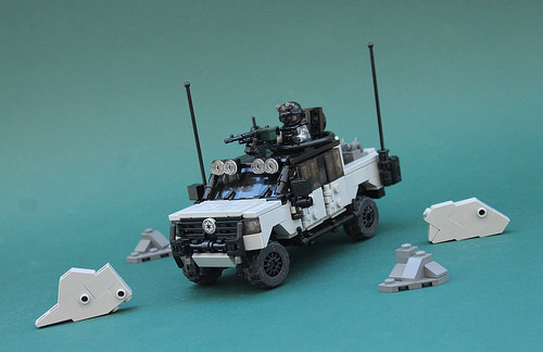 Lego Military 4x4