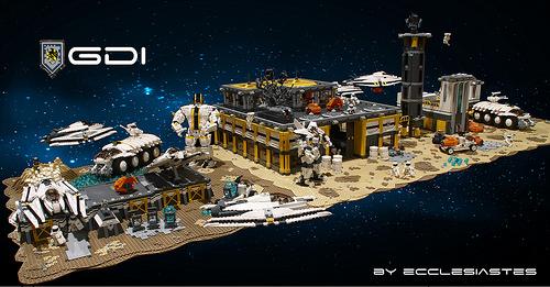 Lego Sci-Fi Base