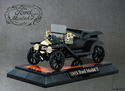 Lego Ford Model T