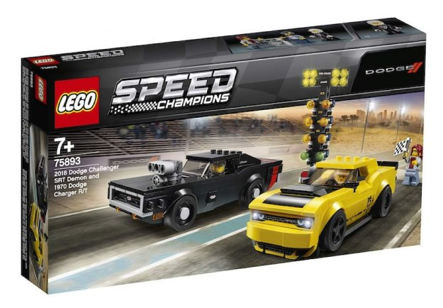 LEGO 75893 Dodge Challenger Demon & Dodge Charger