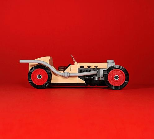 Lego Vintage Racecar