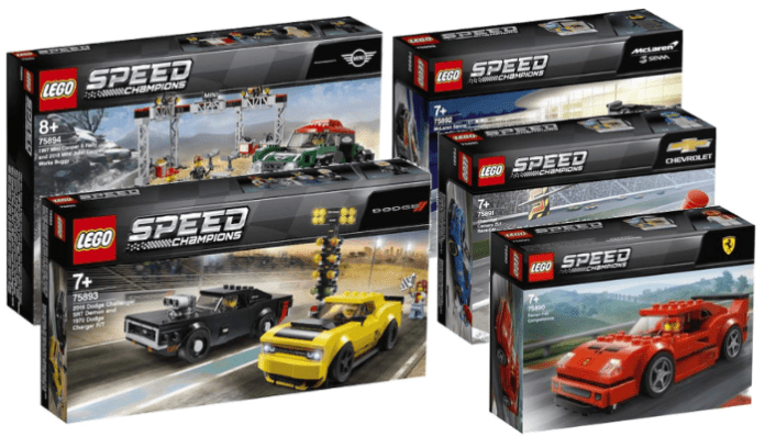 LEGO Speed Champions 2019 Sets