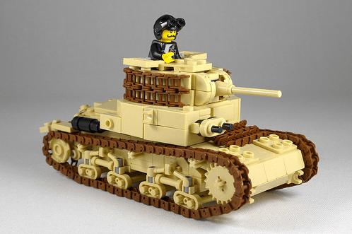 Lego Carro Armato M14/41