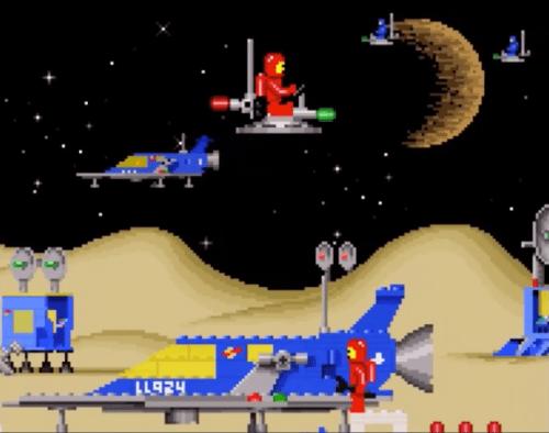 Lego Classic Space Adventure Game