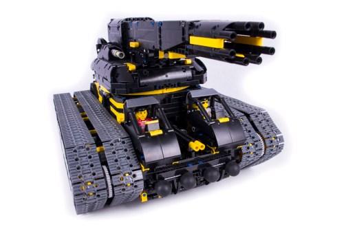 Lego RC Tank