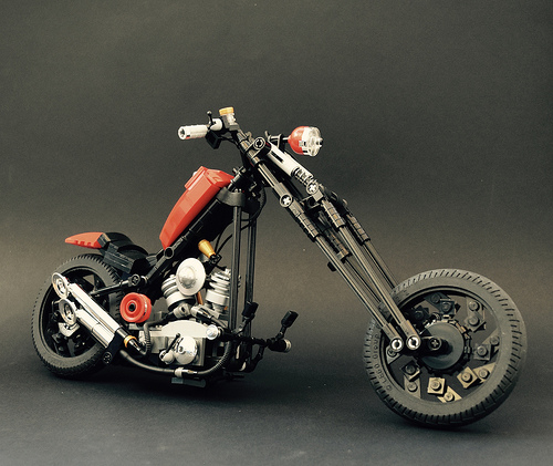 Lego Chopper Motorbike
