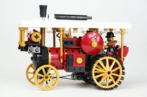 Lego Traction Engine