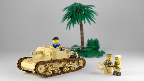 Lego Semovente da 75/18 Self-Propelled Gun