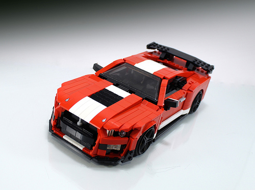 Lego Ford Mustang GT500