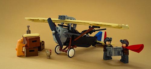 Lego Vintage Aircraft