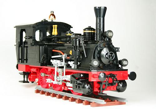 Lego Prussian T3 Steam Locomotive
