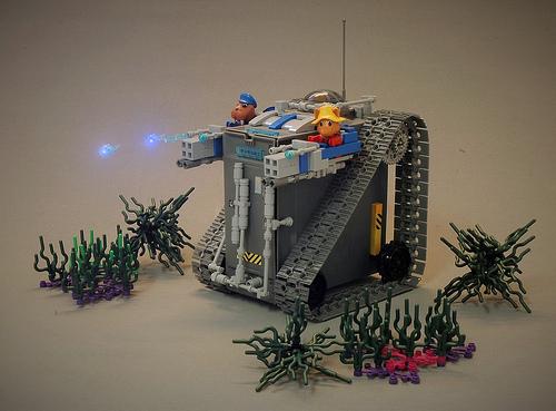 Lego Fabuland Tank