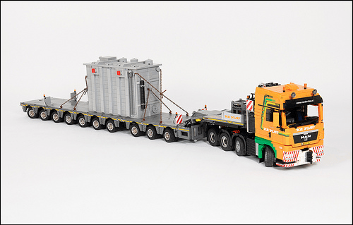 Lego MAN TGX Van der Vlist Truck