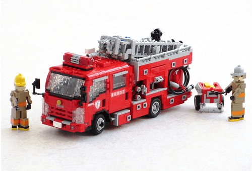 Lego Isuzu Fire Truck Tokyo