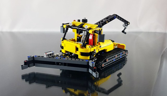 My Other Tracked Vehicle is an Excavator