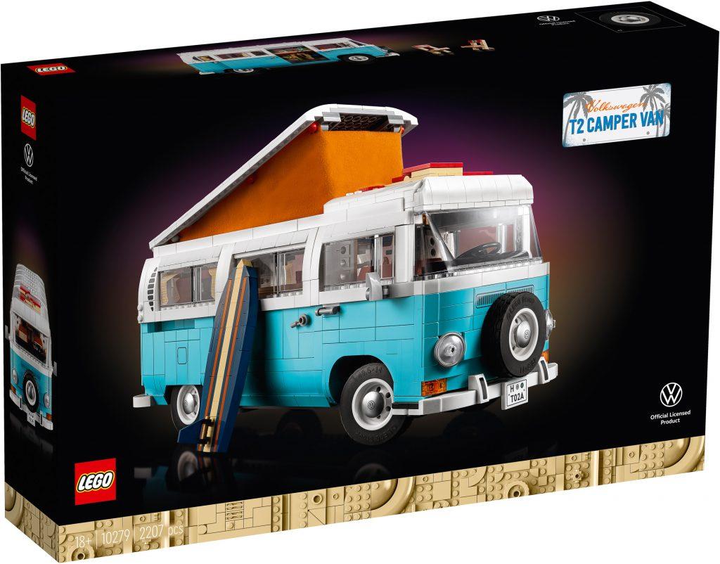 LEGO Creator 10279 Volkswagen T2 Camper   Set Preview