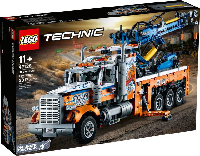 LEGO Technic 42128 Heavy-Duty Tow Truck | Set Preview