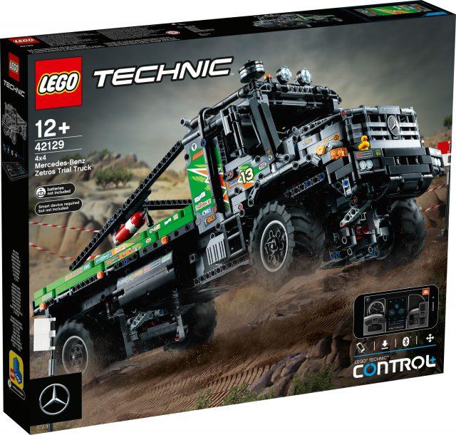 LEGO Technic 42129 Mercedes-Benz Zetros Trial Truck | Set Preview