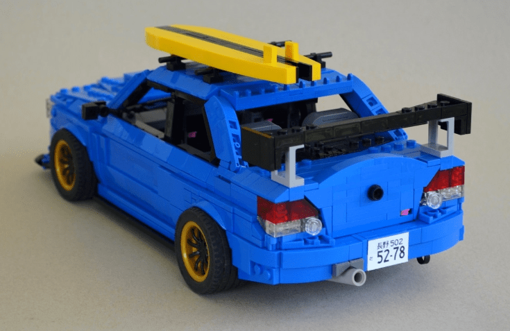 Lego Subaru WRX STI   THE LEGO CAR BLOG 735      477 in Scooby Doo Picture Special      Lego Subaru