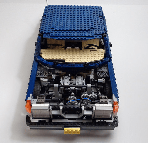 Subaru   THE LEGO CAR BLOG Lego Subaru AWD