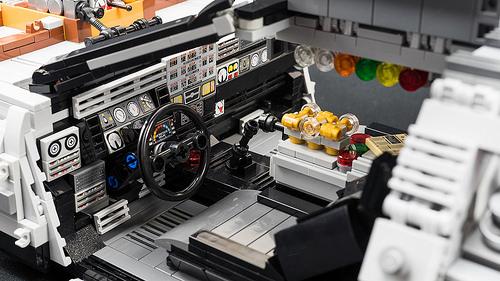 Lego Back To The Future Part Iii Delorean Time Machine