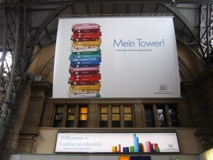 Mein Tower - clever advertising