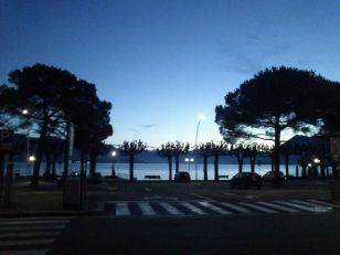 Dawn breaks in Stresa!