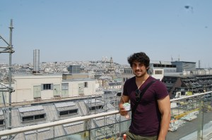 Ice cream on top of Printemps.
