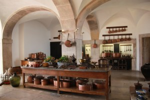 Palais de Pena's kitchen looks nice even by today's standards.