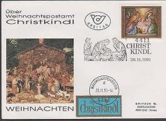 letter sent via Christkindl