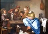 You can almost always spot a Kooikerhondje in Jan Steen paintings