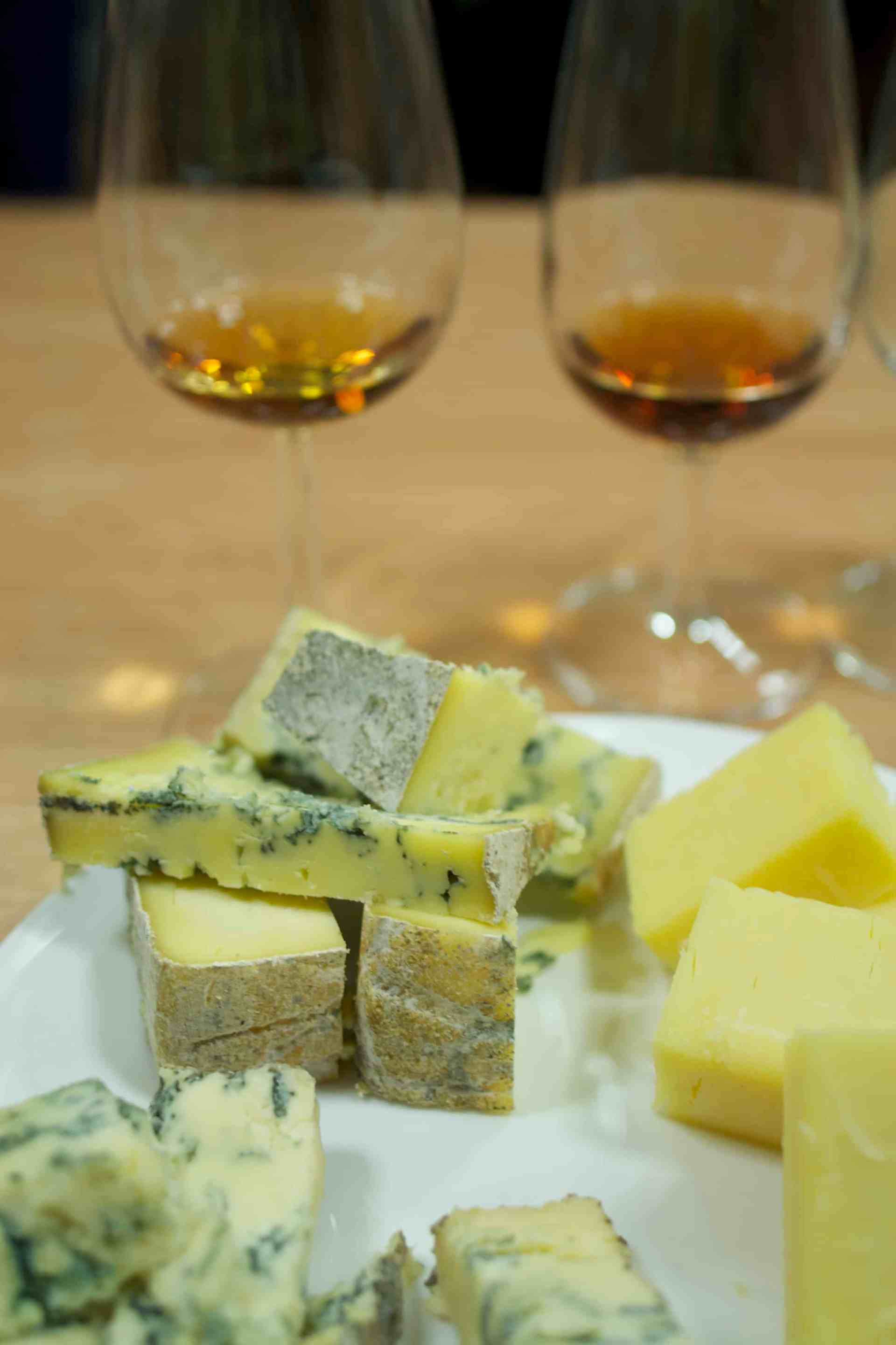 Cheese and wine, with Alex James' Blue Monday (top left)