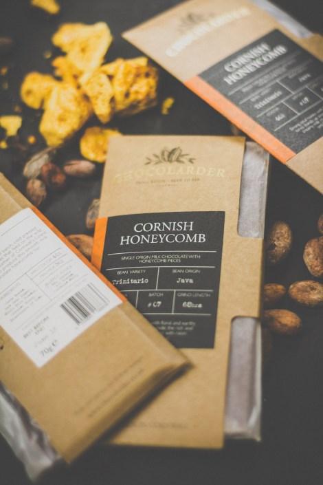 Chocolarder's Cornish honeycomb chocolate
