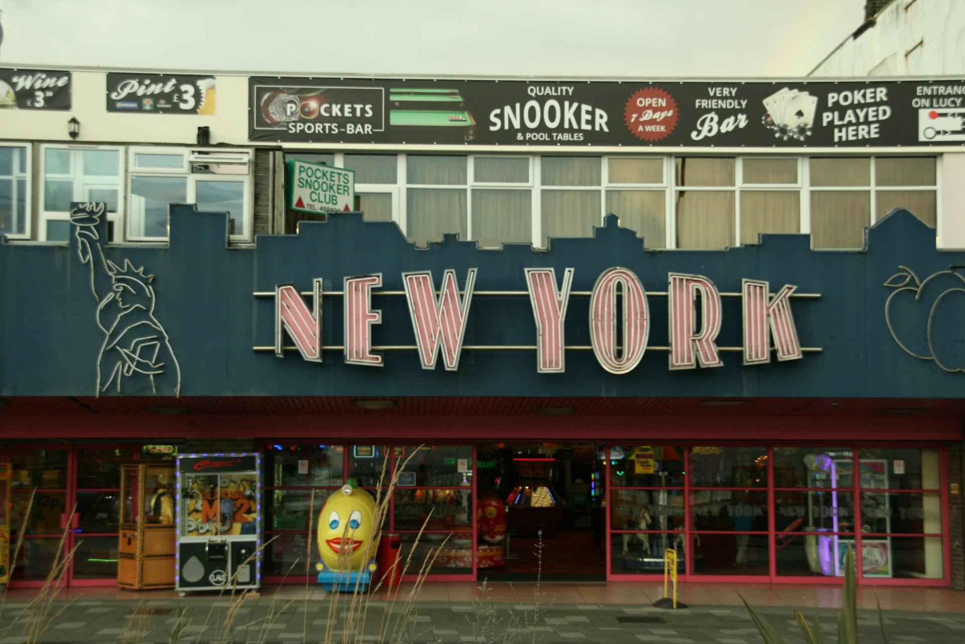 Amusement arcade in Southend