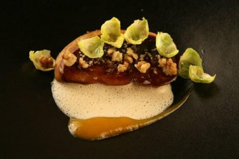 """Seared Foie Gras - from Stéphane Froidevaux's restaurant, """"Le Fantin Latour"""""""