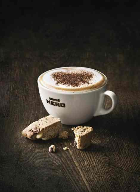 Coffee and a treat (Photo: Caffè Nero)