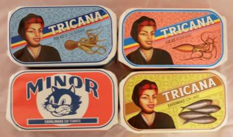 Conserveira de Lisboa beautifully branded canned fish