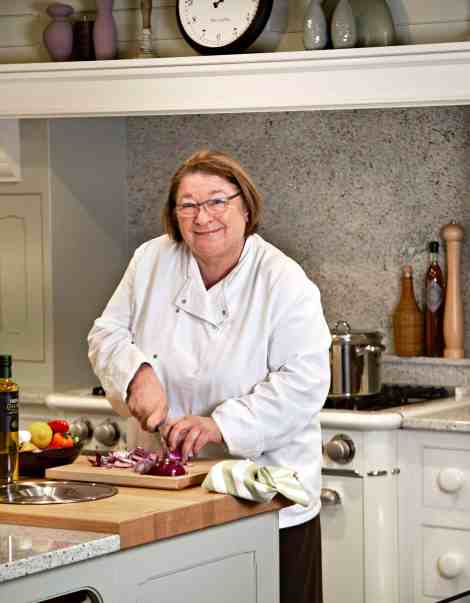 Chef Rosemary Shrager