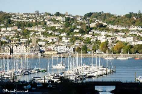 Devon's River Dart, a centre for foodie tourists in the UK