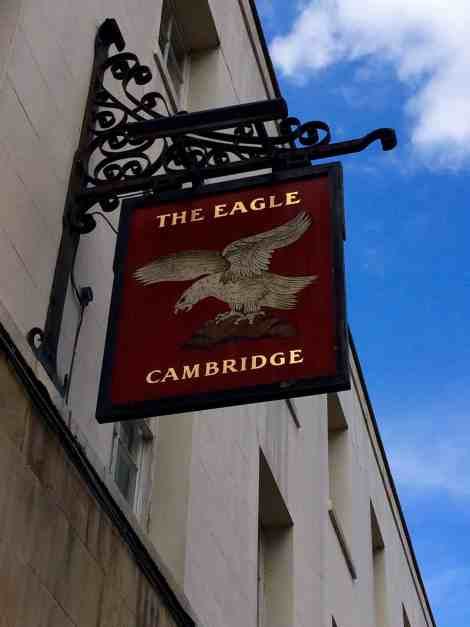 Weclome to the The Eagle pub