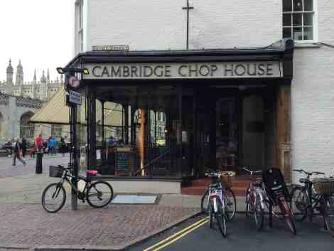 Cambridge Chop House on Benet Street