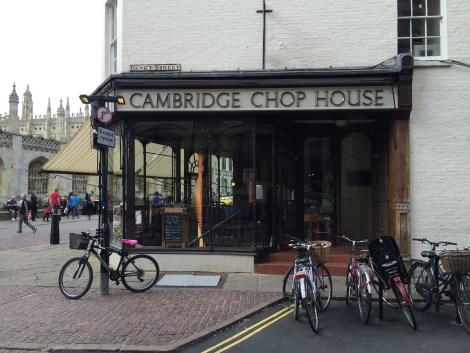 Cambridge Chop House on Benet Street